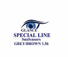 Glance Special Line SunSensors Brown 1,56